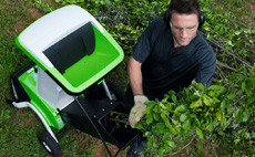 Twice as effective. Petrol multi-shredder with two-chamber system